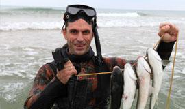 Рыбалка на лимане витязевском